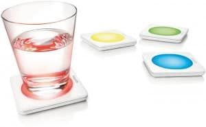 Philips – Lumiware – 4 dessous de verre lumineux design
