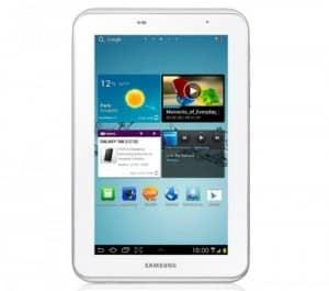 Samsung Galaxy Tab 2 à 179 euros !