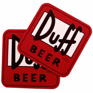 Sous verres Duff Beer – The Simpsons