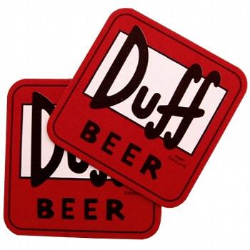 Sous verres Duff Beer – The Simpsons