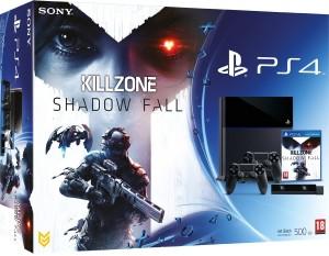 PS4 500 Go Noire + Killzone : Shadow Fall + Caméra PS4 + 2ème Manette PS4 Dual Shock