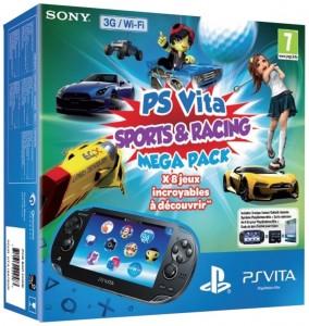 Console Playstation Vita Wifi 3G + 8 jeux pour moins de 200 euros