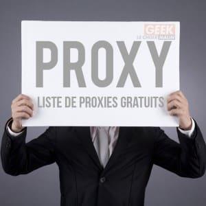 Définition d'un proxy – Bonus : liste de proxy gratuit