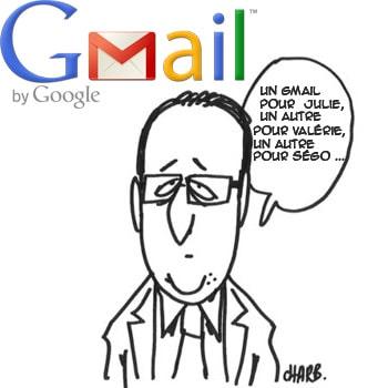 Obtenez autant d'adresse Gmail que vous voulez avec 1 seul compte