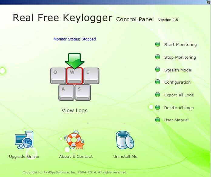 real-free-keylogger