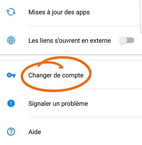 changer-compte-facebook-messenger