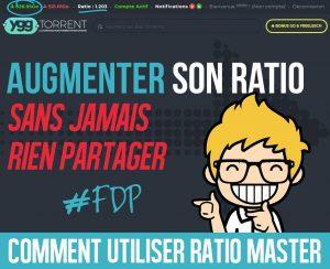 Ratio illimité sur YGGTorrent avec Ratio Master [Tuto]