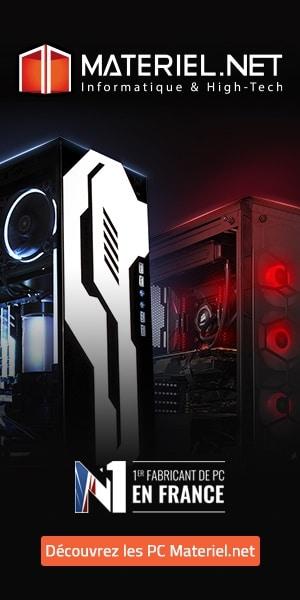 Materiel.net : Numéro 1 des fabricants de PC en France