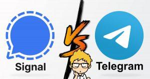 Signal Vs Telegram : Quelle est la meilleure alternative à Whatsapp en 2021?